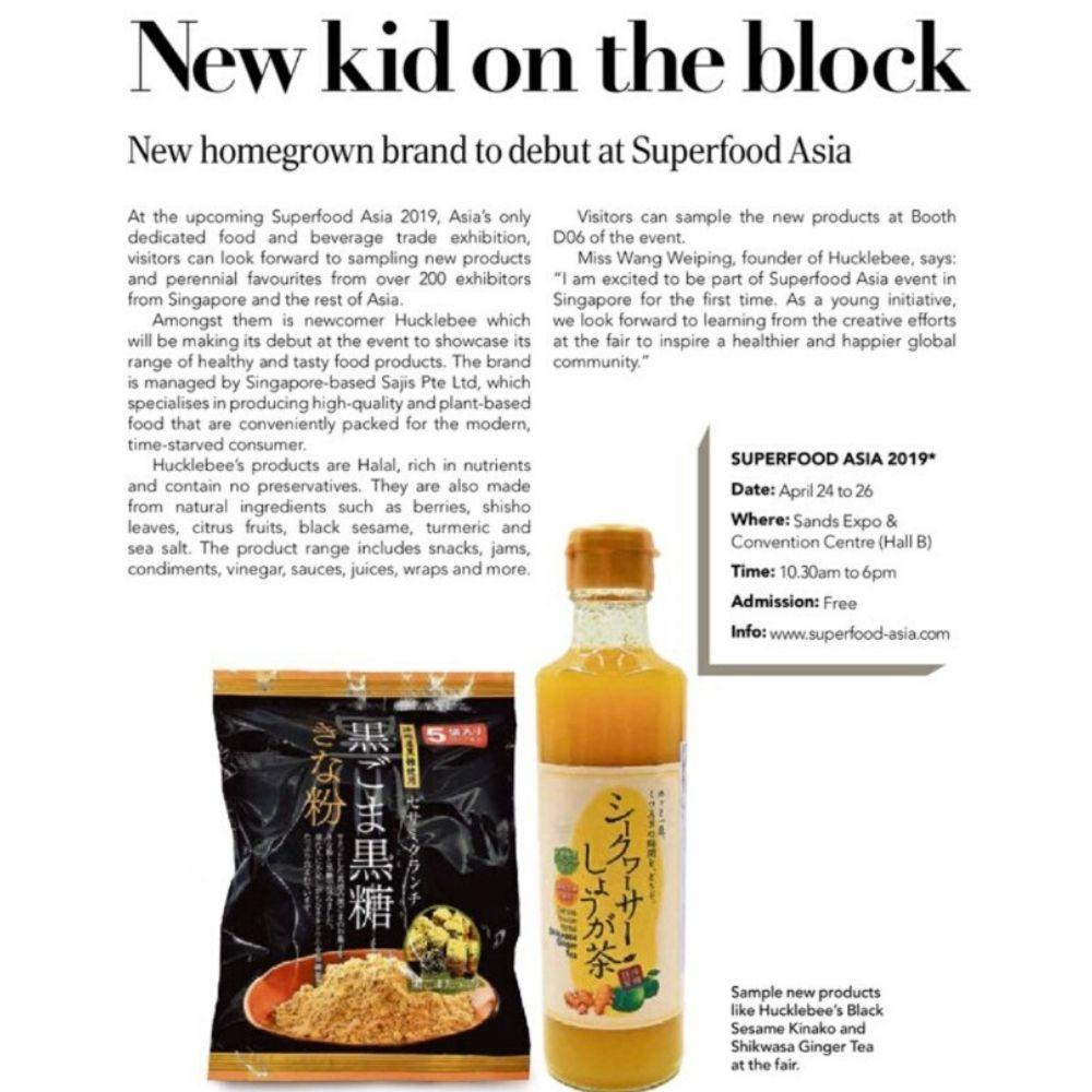 hucklebee superfood asia expo 2019