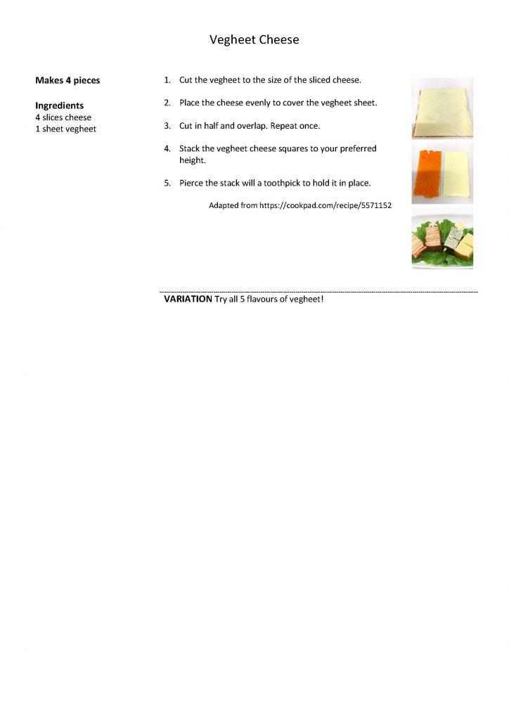 Vegheet Cheese Recipe